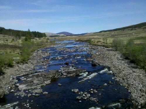 Bridge of Orchy river
