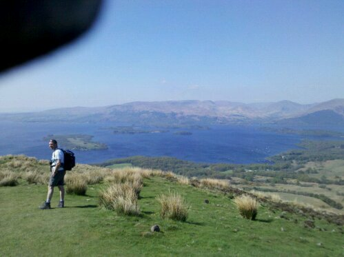 Conic hill and Loch Lomond
