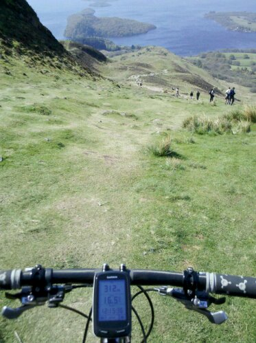 Conic hill downhill