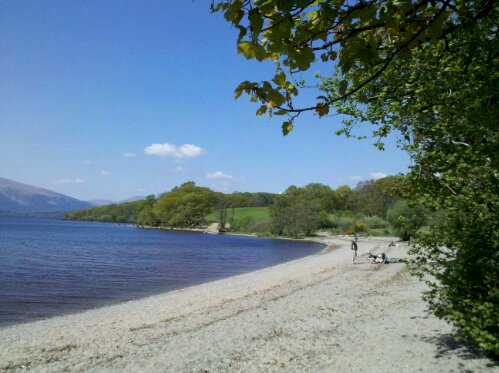 Shores of Loch Lomond
