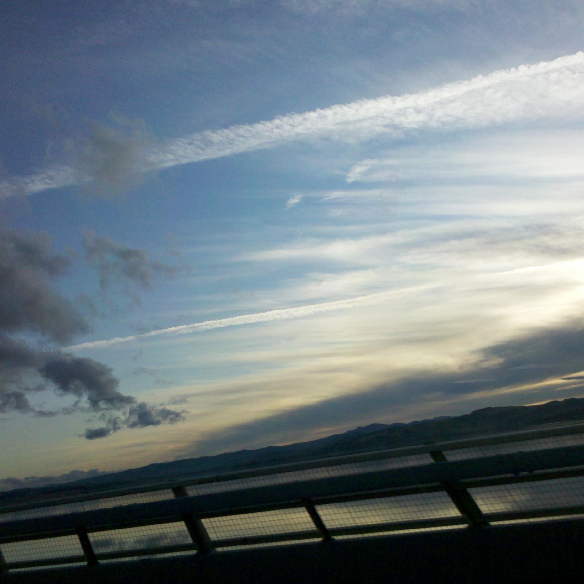 Scotland skies