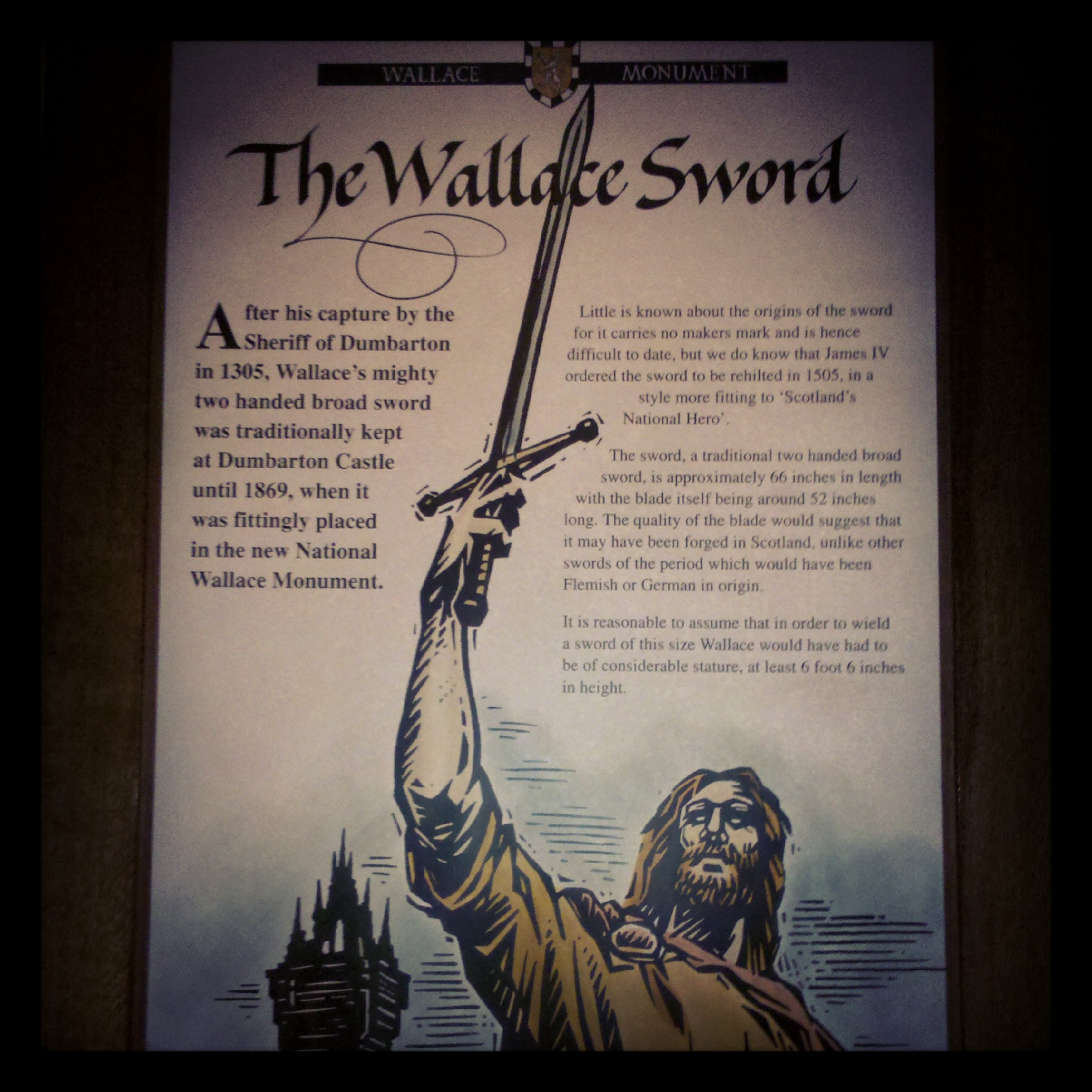 The Wallace sword