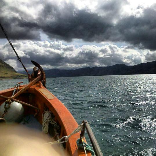 Atlantischer Ozean vom Boot