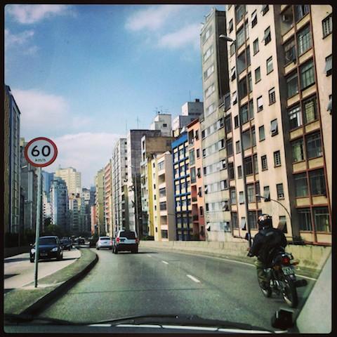 Entering Sao Paulo