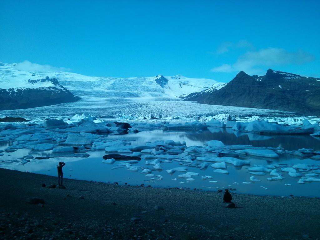 Eisberge am Jökulsárlón