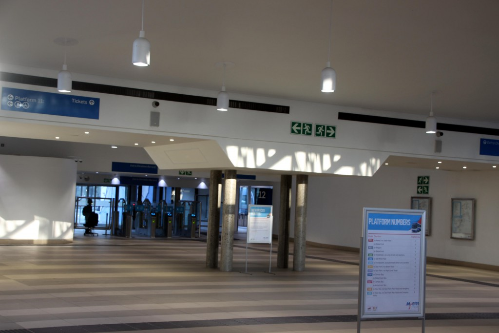 MyCiti Bus Station am Civic Centre
