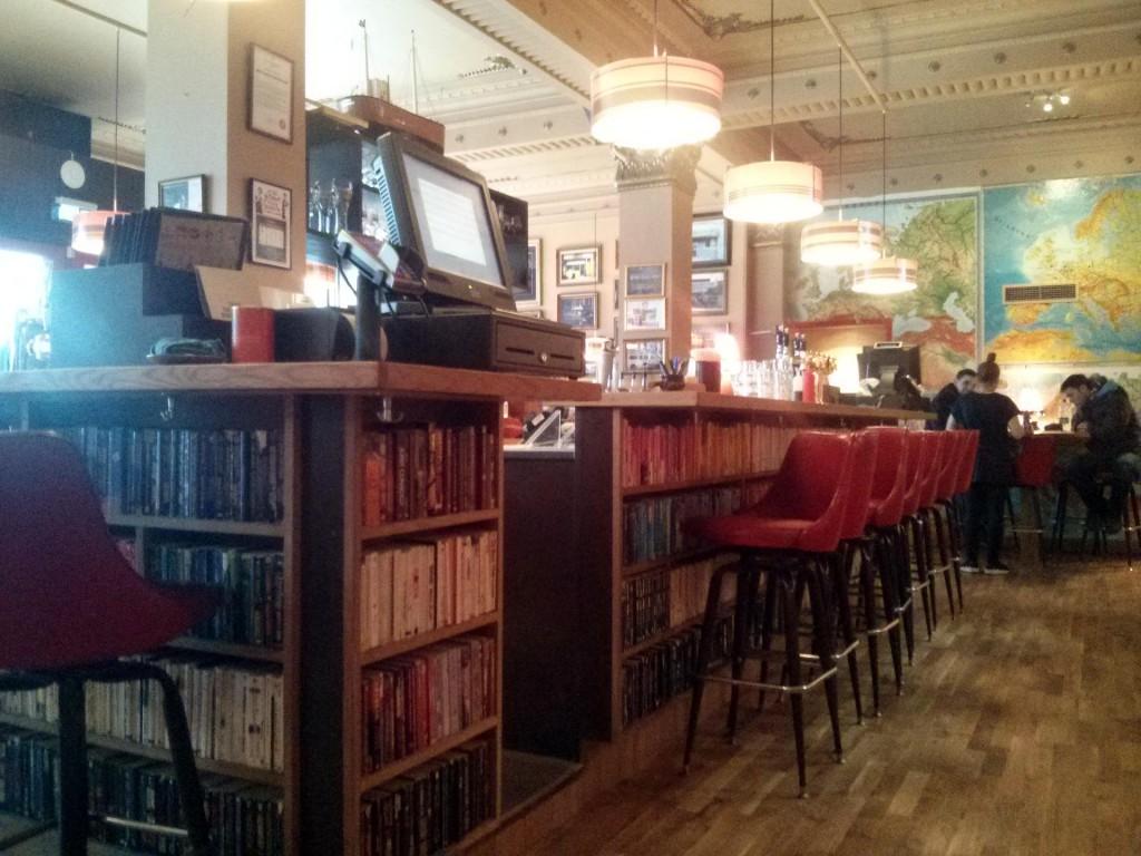 Café Laundromat in Reykjavík