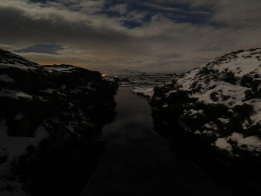Silfra night dive