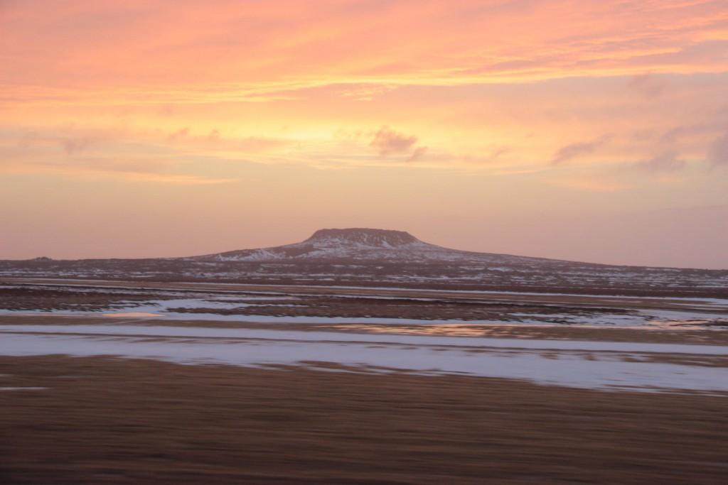 Sonnenuntergang auf Snæfellsnes